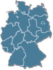 Deutschland blau