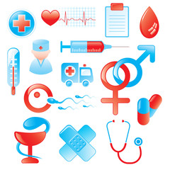 Medical Icons and Design Elements