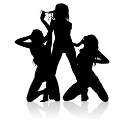 3 sexy silhouettes