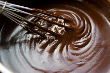 Chocolate-wisk