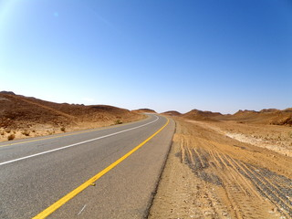 Road to Sahara