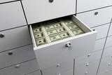 safe bank money poster