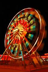 Ferris Wheel at night
