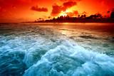 Fototapety ocean sunrice