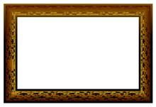 Vintage gold gilt rectangular frame