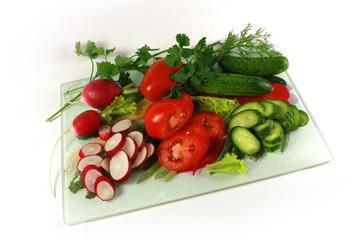 Season of vegetables
