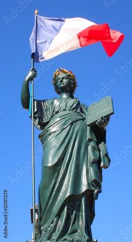 Statue symbole France