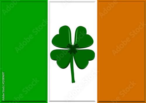Luck Of The Irish Flag
