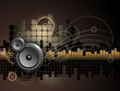 Urban Music Background - Vector - 12090449