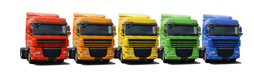 Rainbow truck fleet