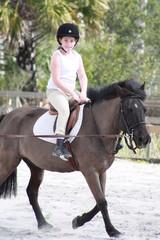 Horse back riding lesson