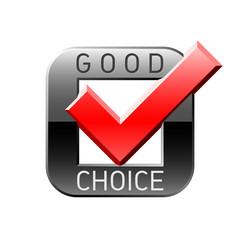 Good choice tick