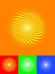 4 sunburst vector illustrator