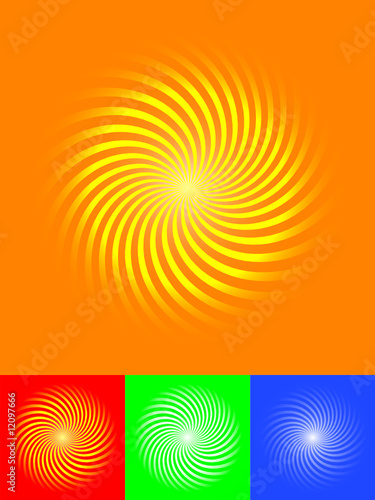4 sunburst vector illustrator