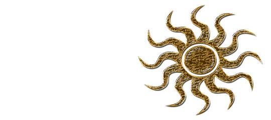 Golden Sun Banner