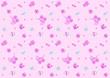 ベビー柄 ピンク