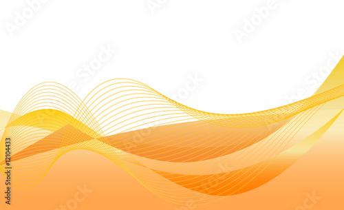 abstrakt - orange