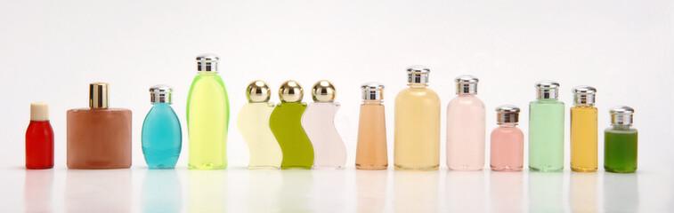 soap bottles