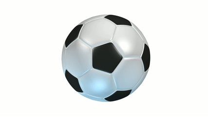 football ballon rotation loop 360°hq
