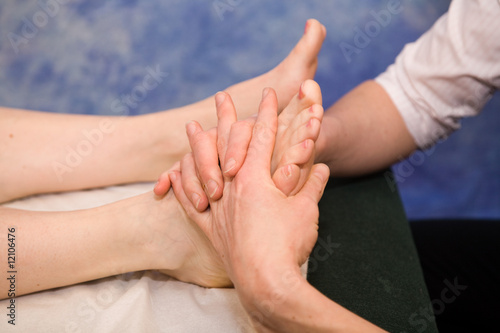 Foot adjustment