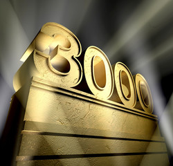 3000 celebration monument