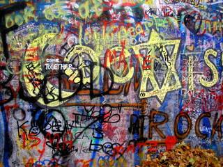 Graffiti Lennon Wall