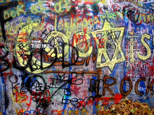 Graffiti Lennon Wall