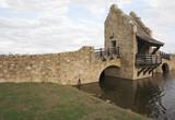 Ancient Medieval Replica Bridge poster