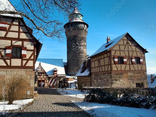 Nürnberger Burg im Winter - 12119812