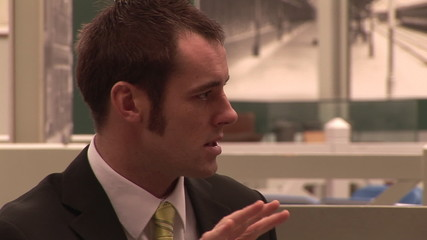 Stock Business footage of a man speaking