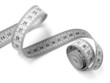 measuring tape on white - 12120431