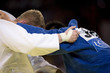 Leinwanddruck Bild - Judo