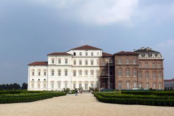 palazzo in fase di restauro