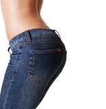 inviting feminine buttocks poster