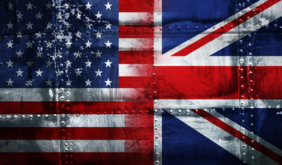 UK USA FLAG