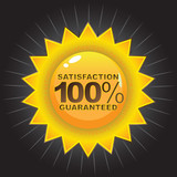 Satisfaction Guaranteed Badge poster