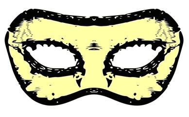 mascherina carnevalesca