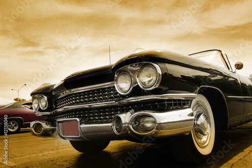 Poster Oude auto s Classic Cars