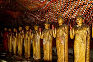 Grotte du temple d'Or à Dambulla, Sri Lanka