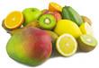Leinwanddruck Bild - Mix Fruit 46