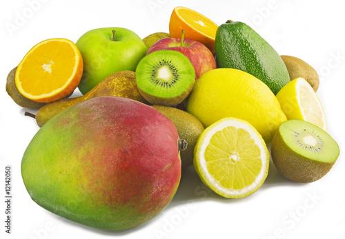 Leinwanddruck Bild Mix Fruit 46