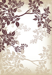 elegance background with branch