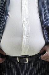 Stomach bursting shirt