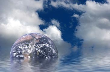 La terre après le déluge