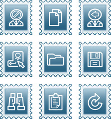 Postage stamp set 3