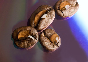 Coffee and drops