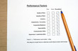 Performance evaluation survey