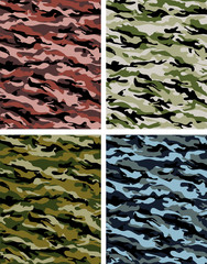 Camo Vector Collection