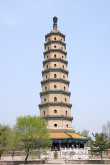 Sarira pagoda at Chengde