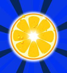 Amanecer naranja